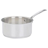 SAUCEPAN STAINLESS 3QT W/LID