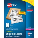 Avery Shipping Label with Paper Receipt