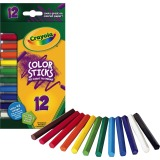 PENCIL,CLR STKS,12/PK,AST
