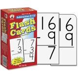 Carson-Dellosa Subtraction 0-12 Flash Cards