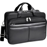 McKleinUSA Walton R Series 83985 Expandable Double Compartment Laptop Case