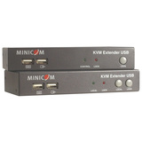 Tripp Lite Minicom USB / VGA over Cat5 UTP KCM Console Extender Kit 500ft