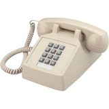 Cortelco Value-Line 250000VBA20MD Standard Phone - Black
