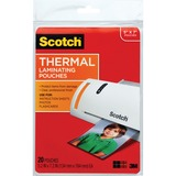 Scotch Thermal Laminating Pouches, 5 Mil Thick for Extra Protection, Professional Quality, 5 x 7-Inches, 20-Pouches (TP5903-20),Clear