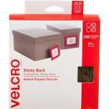 Velcro 90140 Sticky Back Hook & Loop Dot Rolls