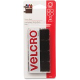 7/8IN BLK VELCRO SQ FASTENER