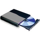 I/O Magic Portable Slim DVD-RW Drive Black (8x) w/ NTI Media Maker 8 Optical Drives|#14700365 IDVD8PB
