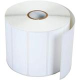 Brother RDS04U1 Die Cut Paper Label - 76mm Width x 25.58mm Length - 1544/Roll - 12 Roll