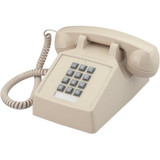 Cortelco 2500-20F Standard Phone - Ash