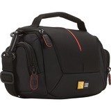Case Logic DCB-305 Carrying Case for Camcorder, Memory Card, Battery, Cable, Lens Cap, Accordion - Black
