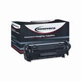 Innovera 83012 Remanufactured Toner Cartridge - Alternative for HP (Q2612A) - Black