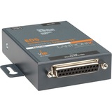 Lantronix One Port Secure Serial (RS232/ RS422/ RS485) to IP Ethernet Device Server; Up to 256-bit AES encryption; SSH/SSL/TLS Enterprise Security with PKI; International 110-240 VAC