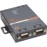 Lantronix EDS2100 2-Port Secure Device Server - 1 x Network (RJ-45) - 2 x Serial Port - Fast Ethernet ED2100002-01