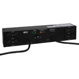 Tripp Lite PDU Dual Source Hot Swap 100-127V 12A 8 5-15R Horizontal 2URM