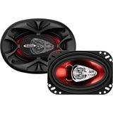"BOSS AUDIO CH4630 Chaos Exxtreme 4"" x 6"" 3-way 250-watt Full Range Speakers"