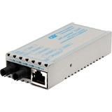 miConverter 10/100/1000 Gigabit Ethernet Fiber Media Converter RJ45 ST Single-Mode 12km