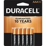 Duracell CopperTop MN1500B10Z Alkaline AAA Battery