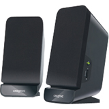 Creative A60 2.0 Speaker System - 4 W RMS - Black