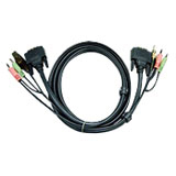 Aten 2L-7D02UD Dual Link KVM Cable Adapter
