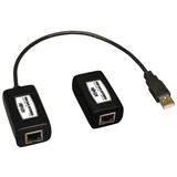 Tripp Lite 1-Port USB Over Cat5/Cat6 Extender Video Transmitter Receiver 150'