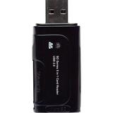 Gear Head CR6800 5-in-1 USB 2.0 Flash Card Reader