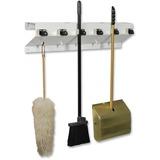 Ex-Cell Kaiser Clincher 333-6 WHT2 Glossy Mop & Broom Holder