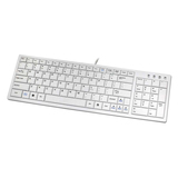 I-Rocks KR-6421-WH Keyboard