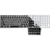 KB Covers Large Type (Clear w/ Black Buttons) Keyboard Cover