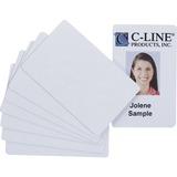 C-Line Graphic Quality Video Grade PVC Card