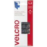 Velcro Black Wafer-thin Fasteners