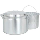 24QT FRYER STEAMER W/BASKET