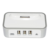 CyberPower CP-H320AP iPod/iPhone Power Charging Dock & 3-Port USB Hub