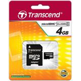 Transcend TS4GUSDHC4 4 GB microSDHC