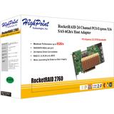 HighPoint RocketRAID 2760 24-port SAS Controller