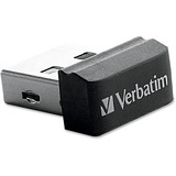 Verbatim 4GB Store 'n' Stay Nano USB Flash Drive - Black