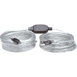 Manhattan Hi-Speed A Male/B Male USB Active Cable, 36'