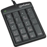 Manhattan USB Numeric Keypad with 19 Full-size keys