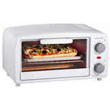 4SLICE TOASTER OVEN BROILR WHT