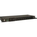 Tripp Lite PDU Metered 200-240V 20A 8 C13; 2 C19 Outlet L6-20P 1U RM TAA
