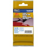 "Brother TZeFA3 Ptouch Iron-On Tape - 15/32"" Width x 118 7/64"" Length - Thermal Transfer - White, Navy Blue - 1 Each"
