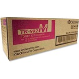 Kyocera TK-592M Original Toner Cartridge - Magenta