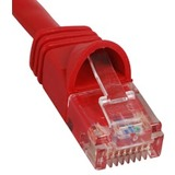 ICC Patch Cord, Cat 6 Molded Boot, Red