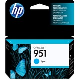 Original HP 951 Cyan Ink Cartridge | Works with HP OfficeJet 8600, HP OfficeJet Pro 251dw, 276dw, 8100, 8610, 8620, 8630 Series | Eligible for Instant Ink | CN050AN