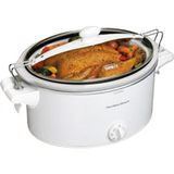 6QT OVAL SLOW COOKER