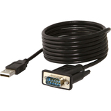 Sabrent USB 2.0 to Serial (9-Pin) DB-9 RS-232 Adapter Cable 6ft Cable (FTDI Chipset)