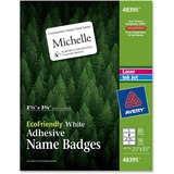 Avery EcoFriendly Name Badge Labels