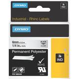Dymo Black on Clear ID Label
