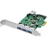 SIIG 3-port PCI Express USB Adapter