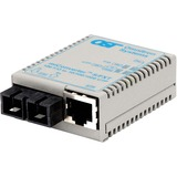miConverter/S 10/100 Ethernet Fiber Media Converter RJ45 SC Multimode 5km