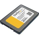 StarTech.com 2.5in SATA to Mini SATA SSD Adapter Enclosure - 1 x Total Bay - 1 x 2.5 Bay - Serial ATA